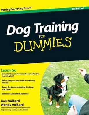 Dog Training for Dummies by Jack Volhard image