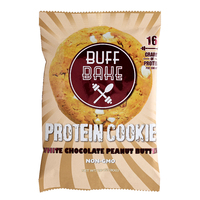 Buff Bake Protein Cookie - White Choc Peanut Butter (80g)
