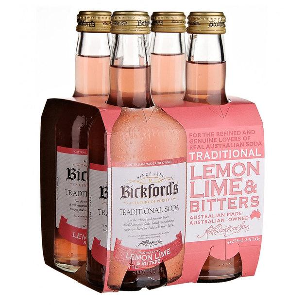 Bickfords Traditional Soda - Lemon Lime & Bitters (275ml)