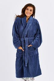 Bambury Denim Microplush Robe (Medium/Large) image