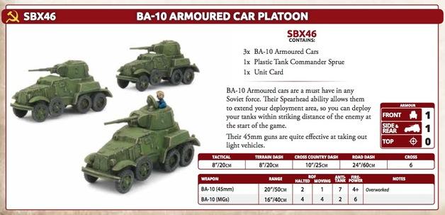 BA-10 Armoured Car Platoon