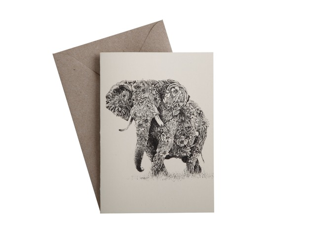Marini Ferlazzo: Greeting Card - African Elephant