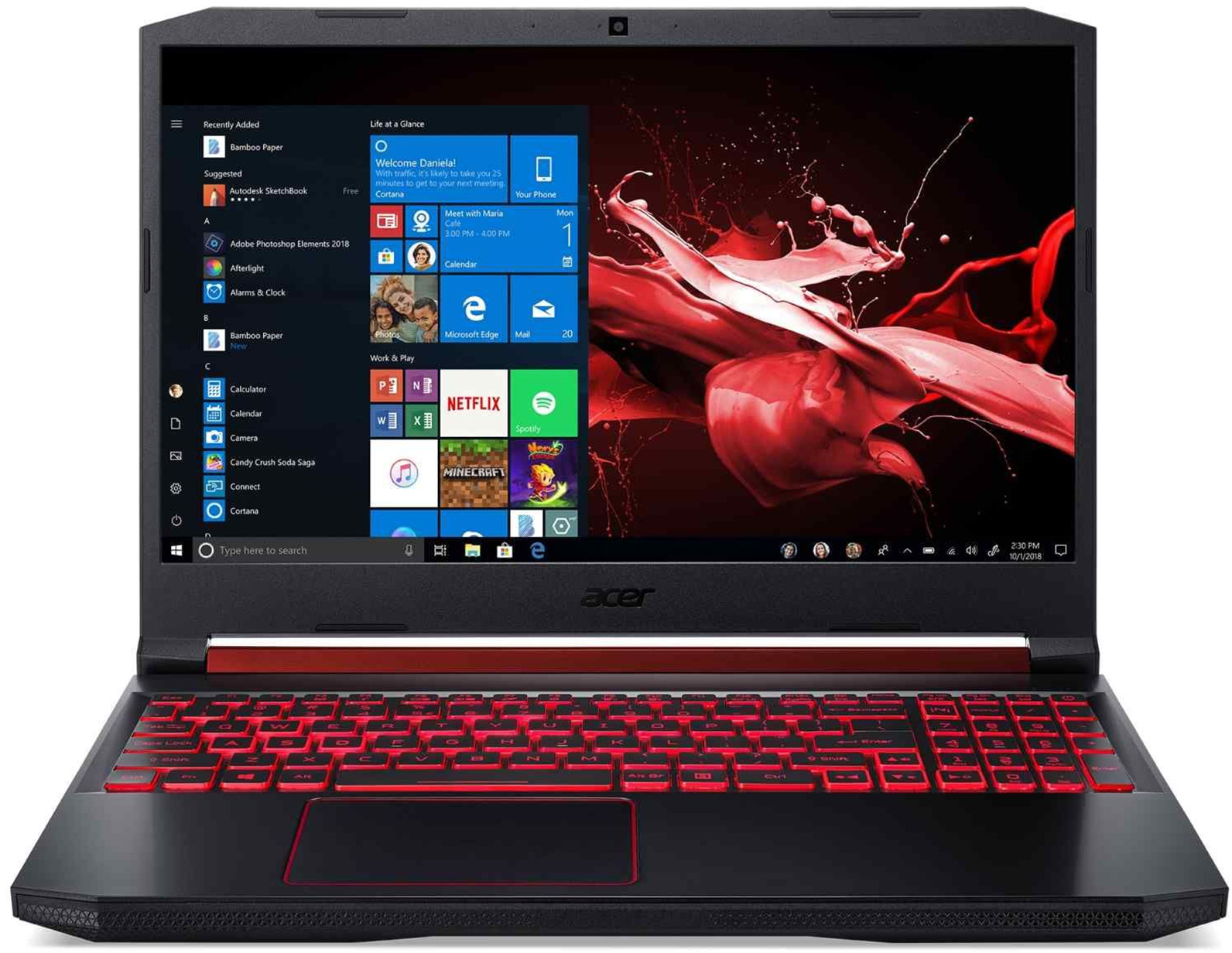 "15.6"" Acer Nitro 5 i5 8GB 256GB SSD 144Hz Gaming Laptop image"