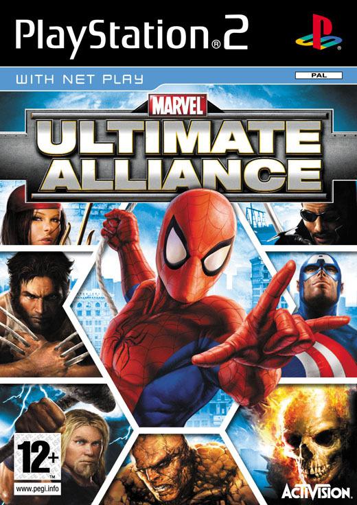 Marvel: Ultimate Alliance for PlayStation 2