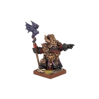 Kings of War Abyssal Dwarf Ghenna, Keeper of the Black Flame