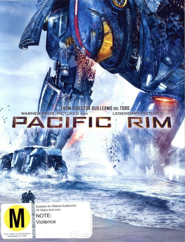 Pacific Rim on DVD