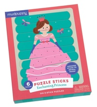 Mudpuppy: Puzzle Sticks - Enchanting Princess