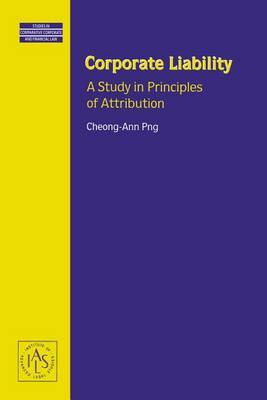 Corporate Liability by Cheong-Ann Png