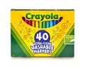 Crayola: Ultra Clean Washable Markers (40 Pack)