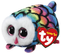 Ty Teeny: Hootie Owl - Small Plush image