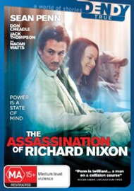 The Assassination Of Richard Nixon on DVD