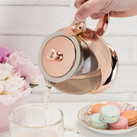 Pinky Up: Shelby Wrapped - Teapot & Infuser (Rose Gold)