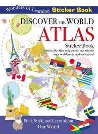 Wonders of Learning Sticker Book Discover the World Atlas image