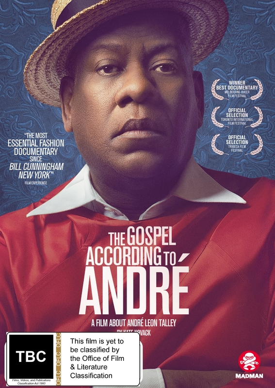 The Gospel According To Andre on DVD