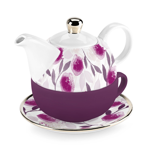 Addison Berry Floral Tea for One Set