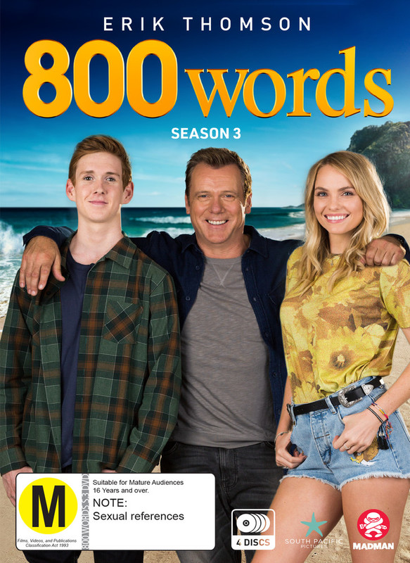 800 Words: Season 3 on DVD