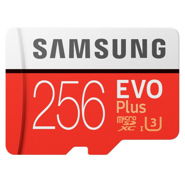 256GB Samsung EVO PLUS Micro SDXC with Adapter
