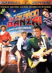 The Adventures Of Buckaroo Banzai - Across the Eighth Dimension on DVD