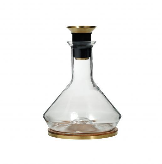 Decanter with Wooden Coaster 2L