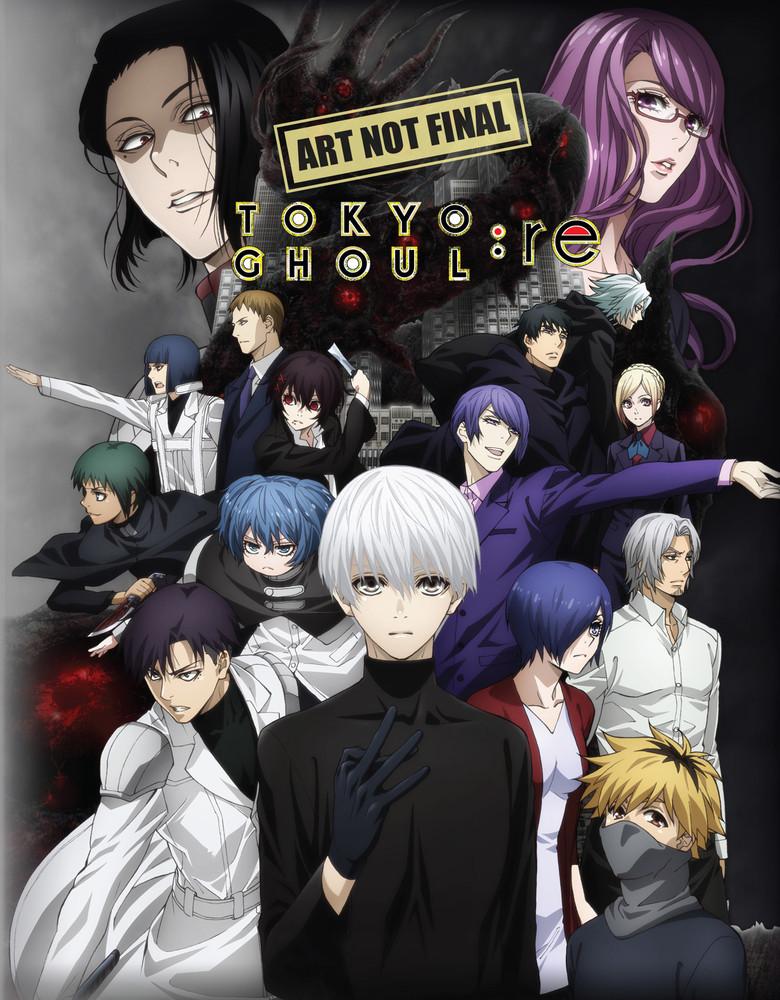 Tokyo Ghoul:re (season 3) Part 2 (eps 13-24) on DVD, Blu-ray image