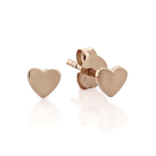 Bo + Bala: Love studs Rose Gold - Exclusive Style