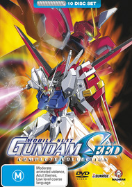 Gundam Seed - Complete Collection (10 Disc Box Set) on DVD image