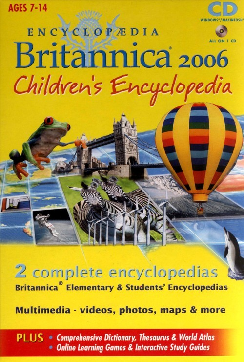 Britannica 2006 Children's Encyclopedia for PC