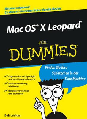 Mac OS X Leopard Fur Dummies by Bob LeVitus