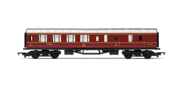 Hornby RailRoad LMS Composite Coach 00 Gauge