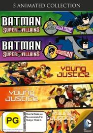 DC Universe and Young Justice DVD