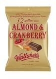 Whittaker's Almond & Cranberry Mini Slabs