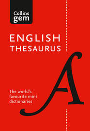 Collins English Gem Thesaurus by Collins Dictionaries