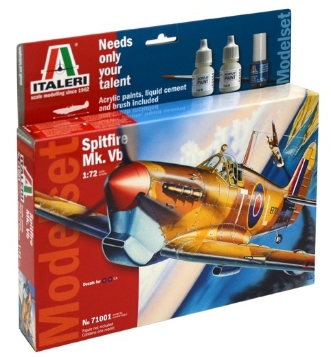 Italeri: 1/72 Spitfire Mk.VB - Model Kit