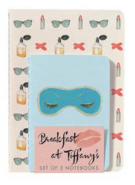 Breakfast at Tiffany's Notebooks (Set of 3) by Abrams Noterie