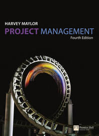 Project Management: (with MS Project CD Rom) by Harvey Maylor image