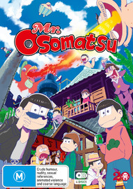 Mr. Osomatsu Complete Series (Subtitled Edition) on DVD