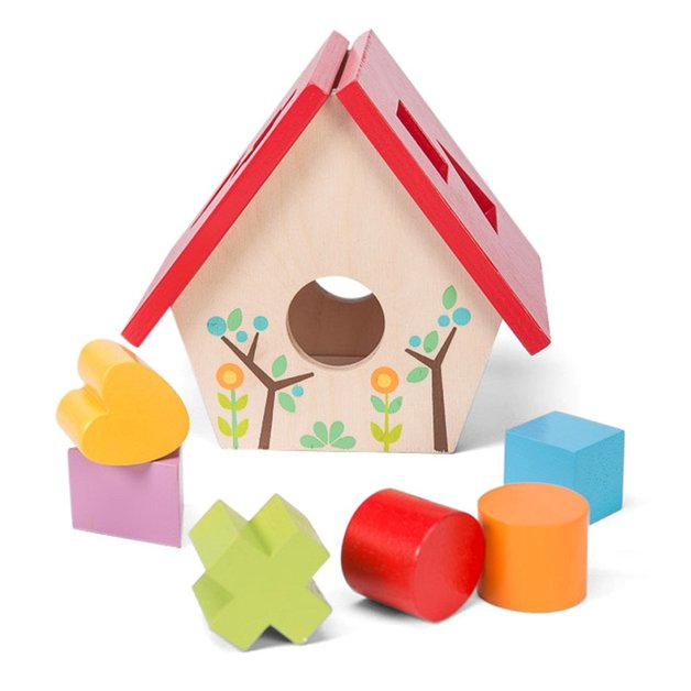 Le Toy Van: Petilou - My Little Bird House Shape Sorter