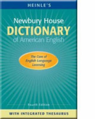 Heinle's Newbury House Dictionary of American English by Philip M. Rideout image
