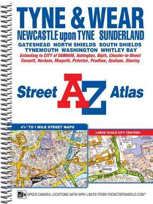 Tyne & Wear Street Atlas by Geographers A-Z Map Company