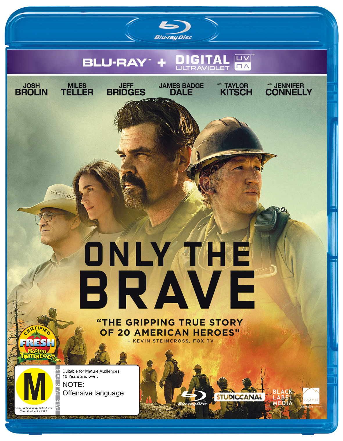 Only The Brave on Blu-ray image