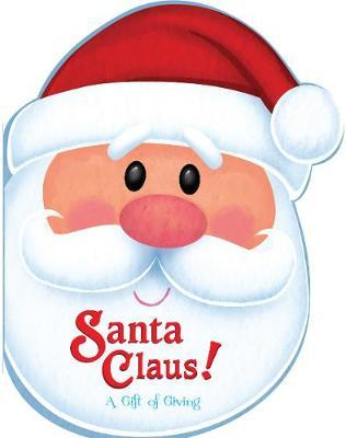 Christmas Head Book Santa Claus! a Gift of Giving image