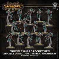 Warmachine: Golden Crucible - Crucible Guard Rocketmen Units