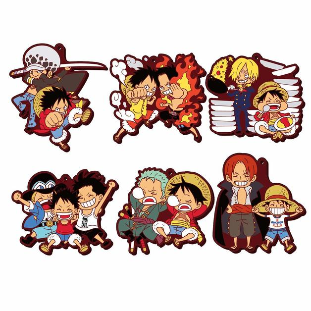 Rubber Mascot Buddy: One Piece Luffy Special! - Blind Box