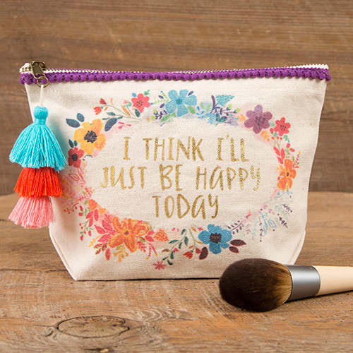 Natural Life: Canvas Pouch - Happy Today