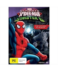 Ultimate Spider-Man: The Spider Slayers on DVD
