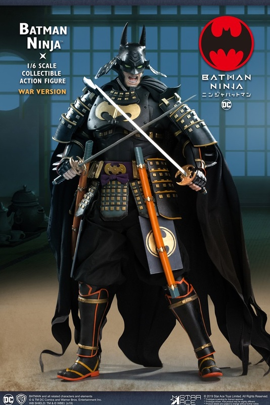 Batman: Ninja (Deluxe War Ver.) - 1:6 Scale Articulated Figure