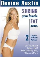 Denise Austin - Shrink Your Female Fat Zones on DVD