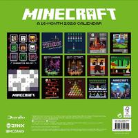 Official Minecraft 2020 Square Wall Calendar image