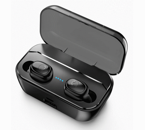 True wireless earbuds with Wireless Charge Case