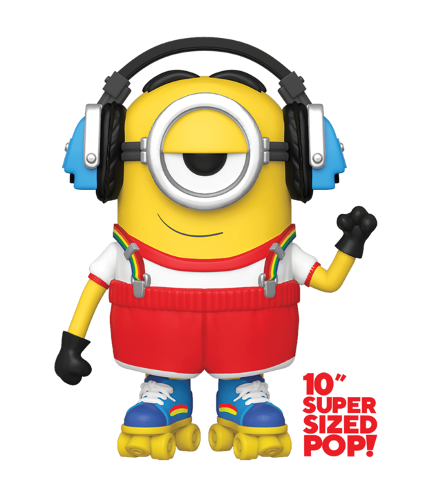 "Minions 2: Stuart (Skater) - 10"" Super Sized Pop! Vinyl Figure"